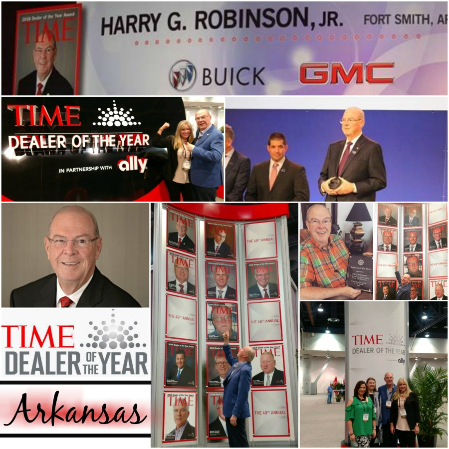 harry robinson arkansas time dealer of the year