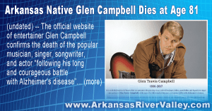 Arkansas Native Glen Campbell Dies at Age 81