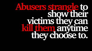 abusers strangle