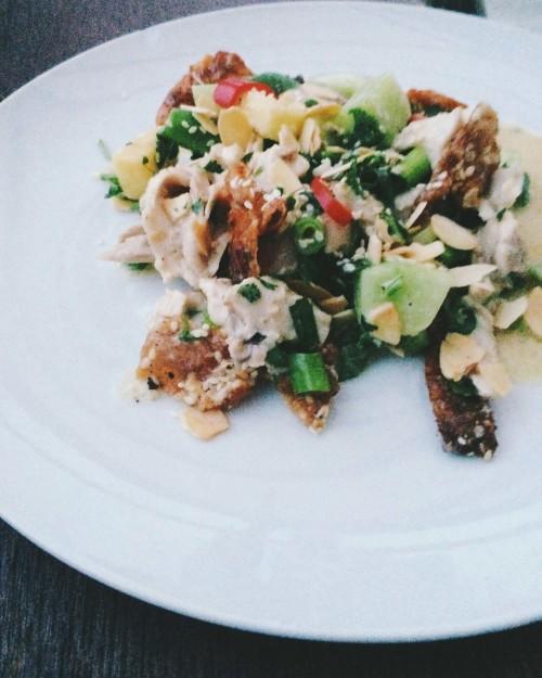 alison chino coronation chicken salad foodie friday arwb