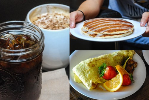 Food in Argenta - Mugs Cafe breakfast
