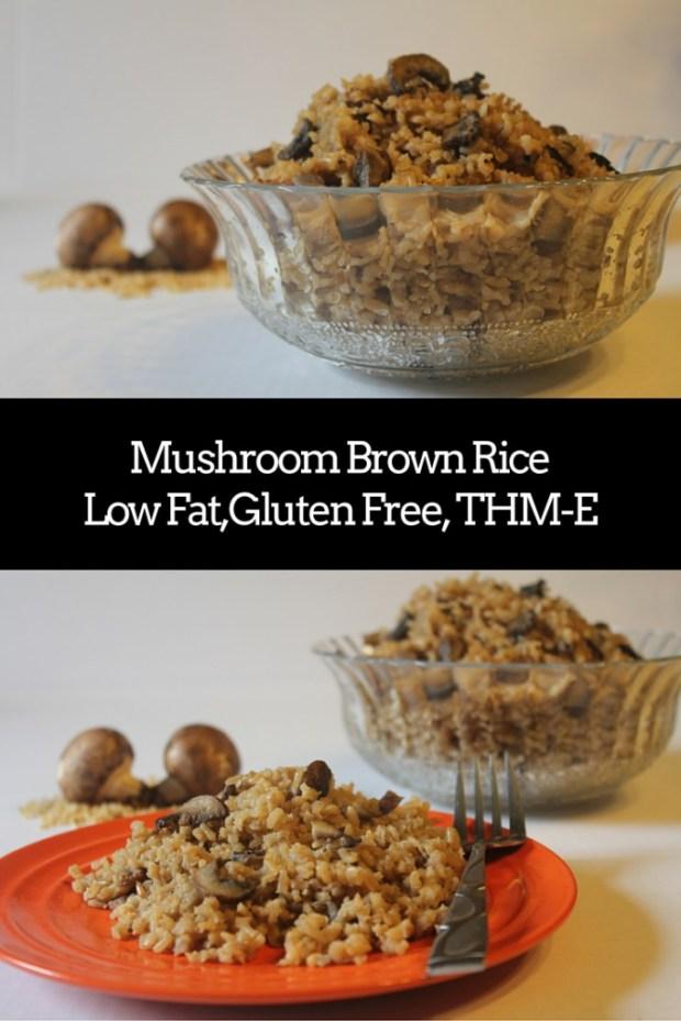 Keri Bucci: Mushroom Brown Rice  {National Rice Month}