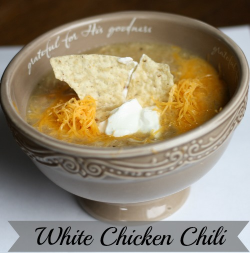 White Bean Chicken Chili amanda farris