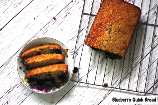 Blueberry Quick Bread from Amanda Farris