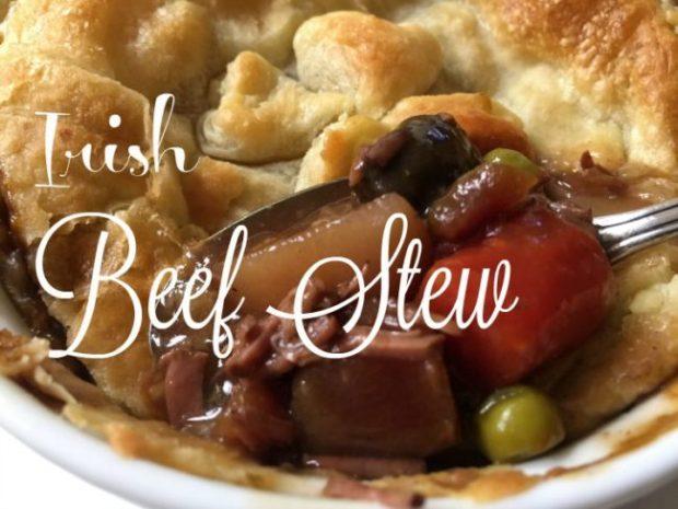 Irish Beef Stew via diningwithdebbie.net