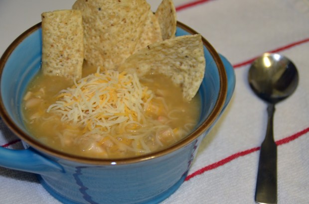 Maegan Clark: Spicy White Chicken Chili