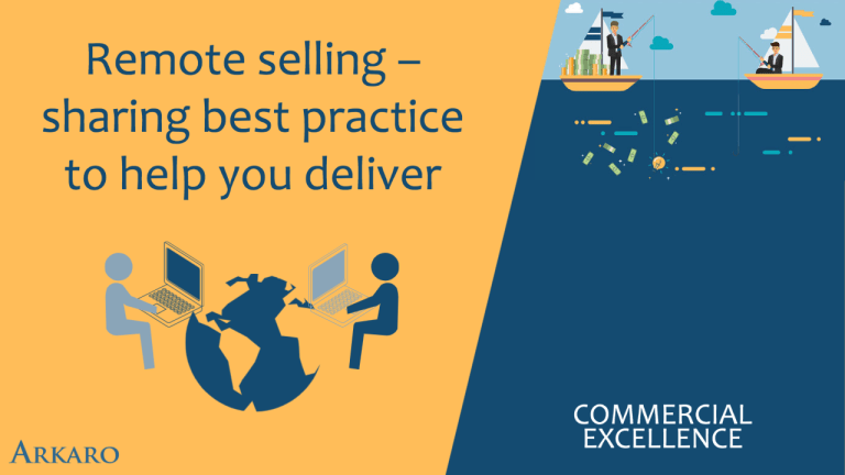 Remote Selling – sharing best practice