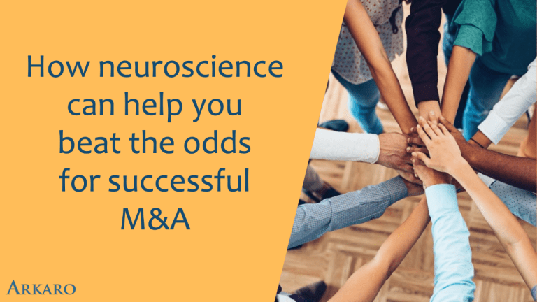 How neuroscience can help you beat the odds for successful M&A