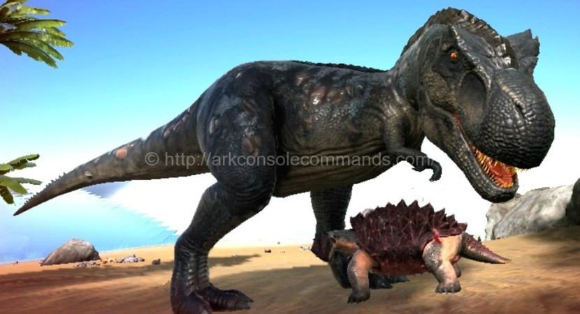 ark tyrannosaurus rex - ark survival evolved