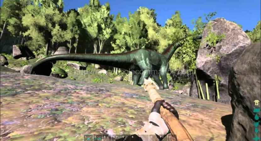 Ark Brontosaurus Ark Survival Evolved