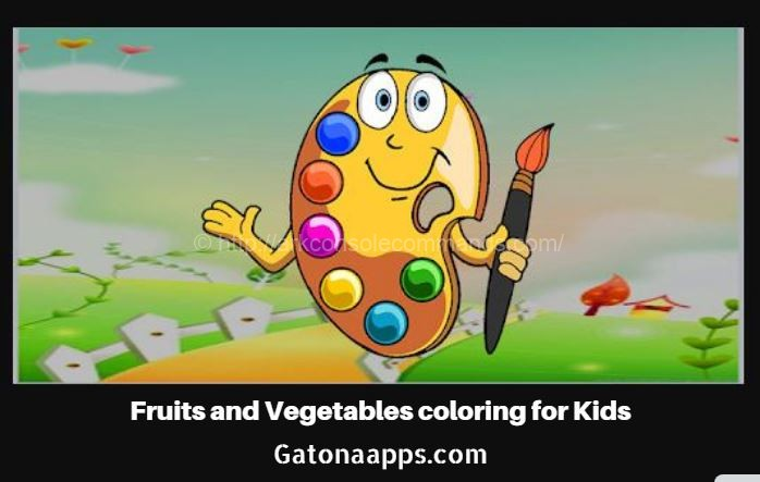 Fruits coloring Book