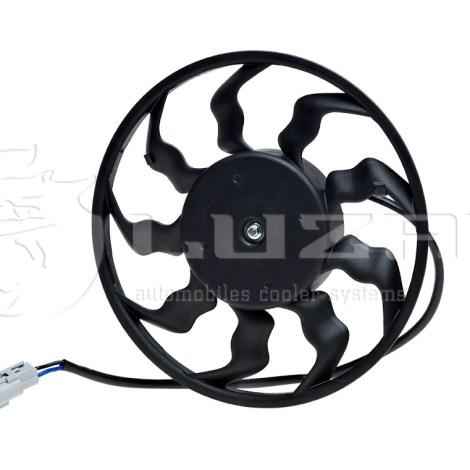 Электро вентилятор охлаждения кондиционера на ВАЗ 2170 Halla