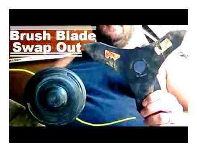 attach, cutting, blade, trimmer
