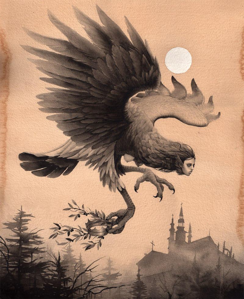 Queen of the Harpies by Alex Snelgrove (2010)