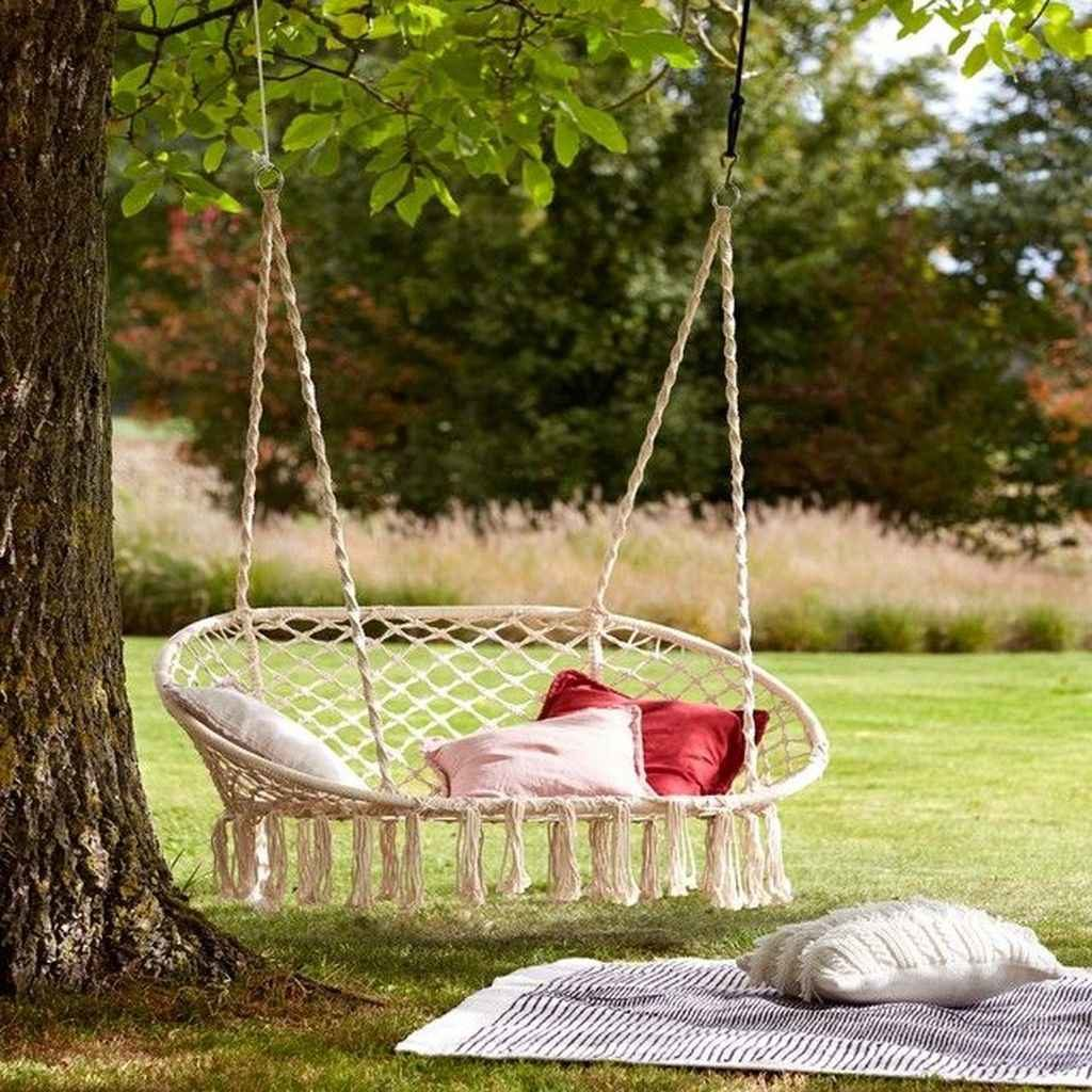 23 ideas de columpios de jardin para