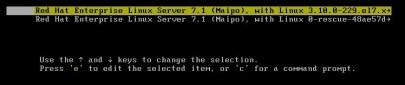 edit kernel parameters