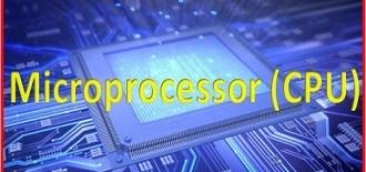Microprocessor CPU