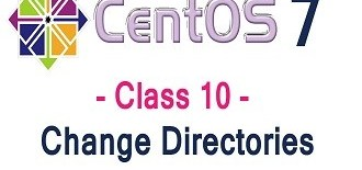 Centos 7 cd Command to move in between directories