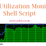 Monitor Your CPU Utilization using Shell Script