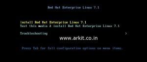 red hat enterprise linux 7 installation - 1
