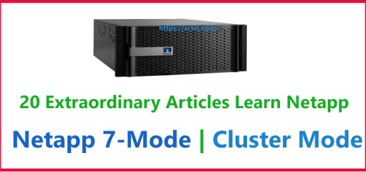20 Extraordinary Articles Learn Netapp Storage 7mode - Cluster mode