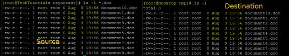 11 rsync commands Linux