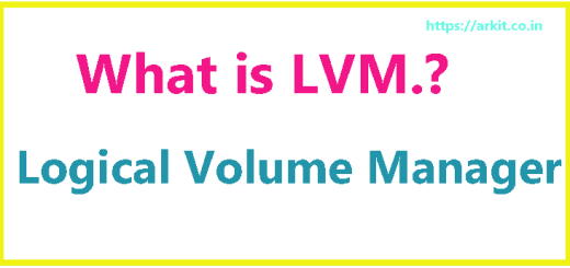 what is LVM How to Create LVM Linux Logical Volume Manager