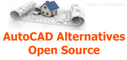 Opensource Autocad alternatives