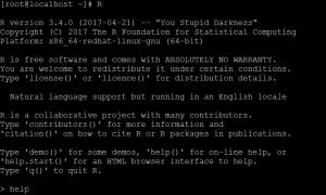 Test R Shiny Server Installation