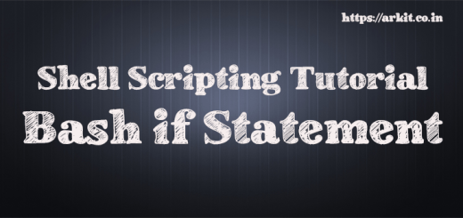 bash if else statement