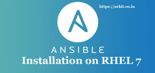 Ansible Installation Steps Red Hat Enterprise Linux 7