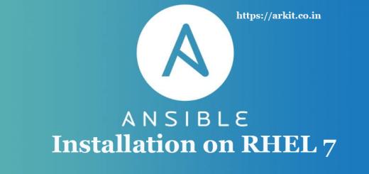 Ansible Installation Steps Red Hat Enterprise Linux 7