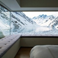 Chalet C7, Chile: a refuge enclosed in the Andes