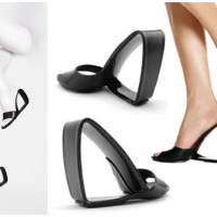 Mobius shoes | Rem D Koolhaas: a shoe from a chair