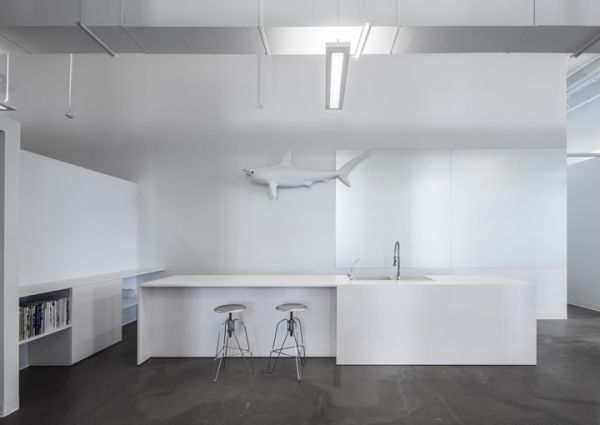 Office Design BLUE Communications By Jean Guy Chabauty And Anne Sophie Goneau A R K I