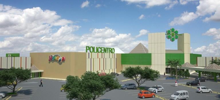 Policentro Shopping Mall Facades