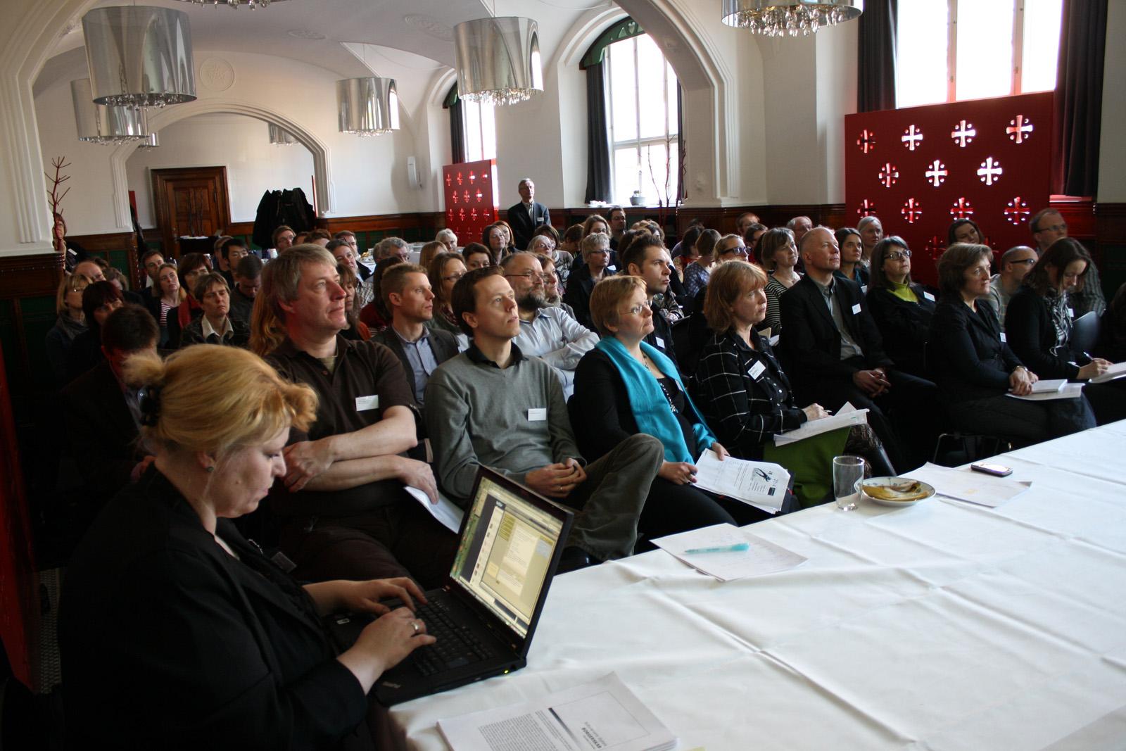 CSHJ mikrobloggede fra konferencen til glæde for kolleger i ind- og udland