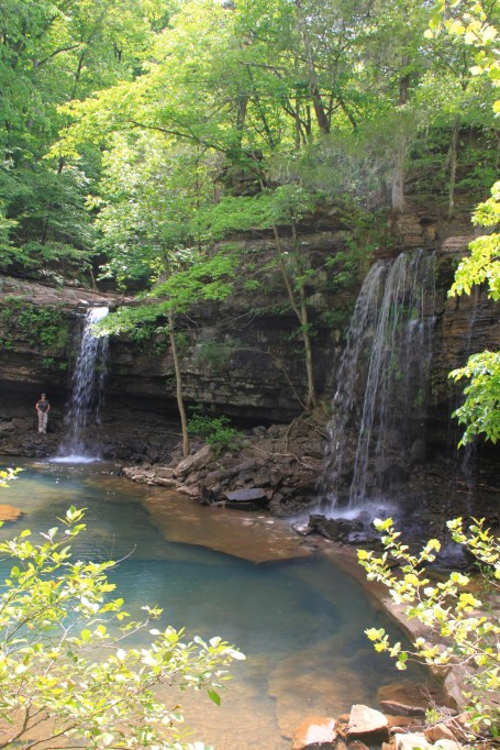 Twin Falls of Richland (Ozark Forest) photo