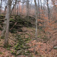 Lost Valley Trail + Eden Falls (Buffalo River) – 2 mi (o&b) photo