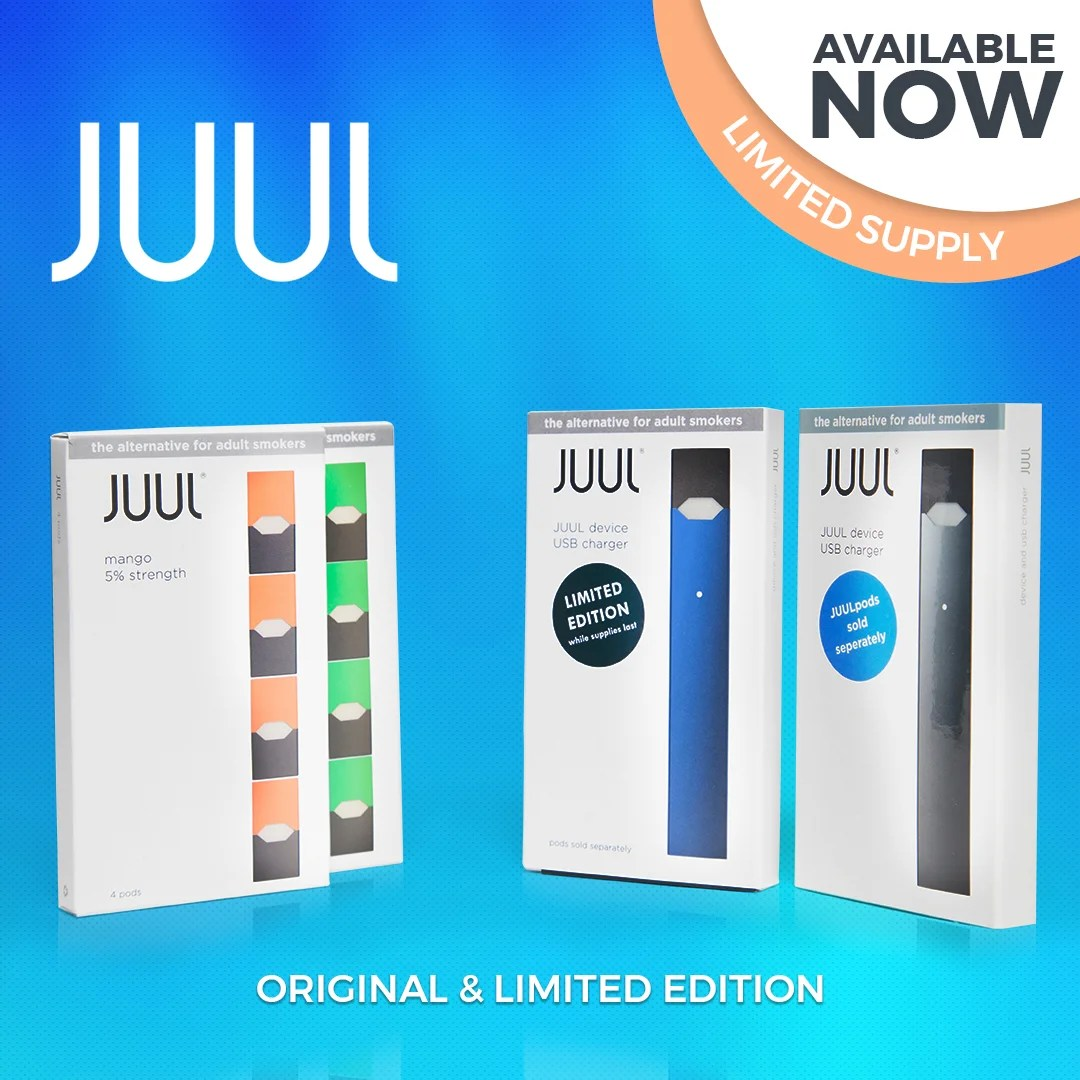 Juul Starter Kit – Includes 4 Pods