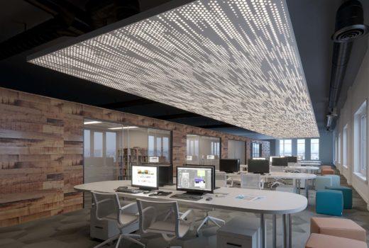 13 office ceiling panel design ideas