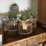 Jar With Basket Cage vintage shop camberley surrey