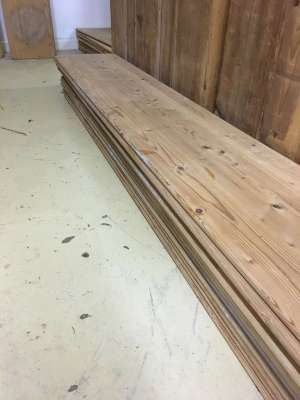 Reclaimed boards 2m