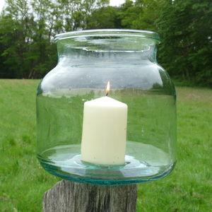 Vintage glass, jars buy online, pickling, storage glass, hurricane glass
