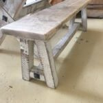 bench wooden seating vintage