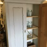 cupboard, cabinet, painted French furniture vintage old pine in Surrey