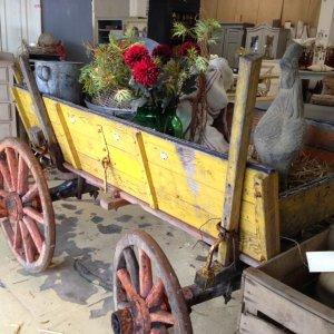cart, vintage, unusual