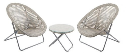 garden furniture chairs table set