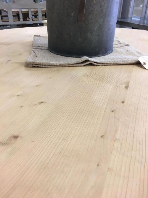 Table: Large Round pine dining
