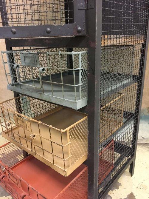 Metal Cabinet-Industrial Style vintage